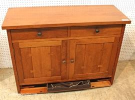 "BEAUTIFUL SOLID Cherry Server by ""Stickley Furniture"" Located Inside – Auction Estimate $500-$1000"