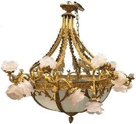bronzechandelier