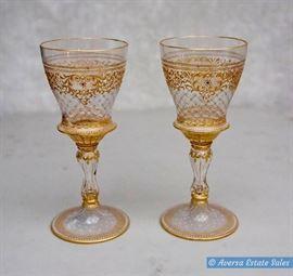 Pair of Venetian Stemware