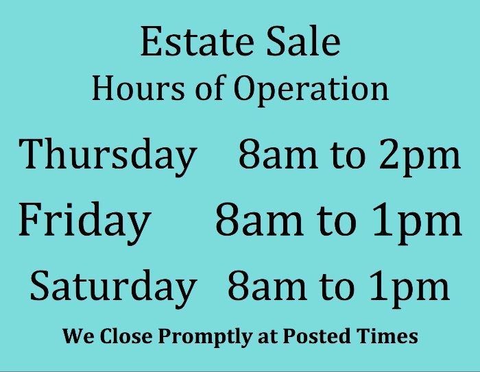 color sale hours