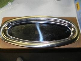 20 1 2 Stainless Steel Fish Platter