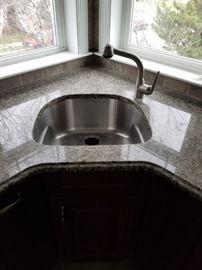 Prep sink detail