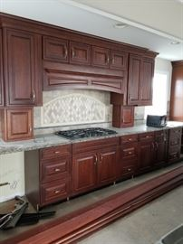KraftMaid cabinetry - approx. 39 feet of cabinets to configure as you wish