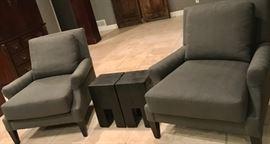 BARBARA BARRY chair pair
