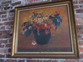 "Paul Gauguin ""A Vase of Flowers""  Wall Art"
