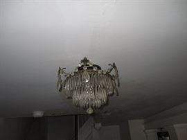 french multi crystal ceiling light chandlier