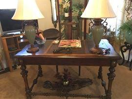 Executive Desk, Lamps