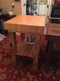 Boos Block Butcher Block Table