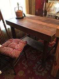 Primitive Oak Table