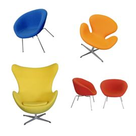 Arne Jacobsen Collection at TOM GIBBS STUDIO