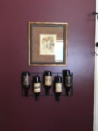 Wine bottle holder Decor and Picture