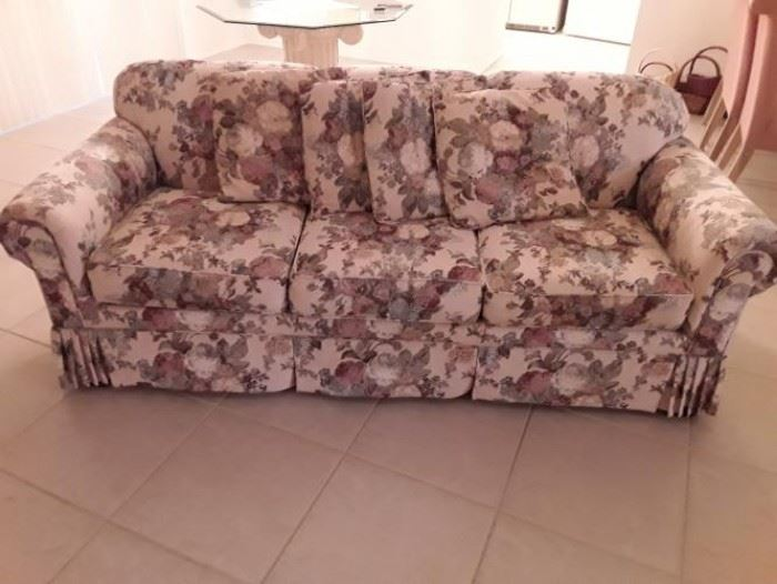 Craftmaster upholstered couch