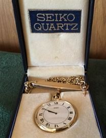 2 Wrist Watches and 1 Pocket Watch