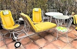 vintage patio set
