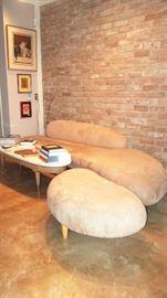 Isamu Noguchi Cloud Style Sofa/Ottoman