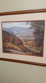 """Valley Light"" by Jim Gray-SOLD"