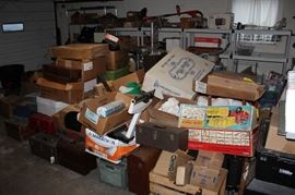 Another huge load from storage to sort through and find forgotten treasures...