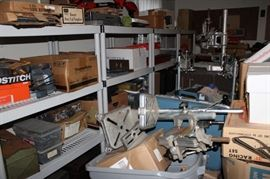 An insane amount of tools...still unloading more..