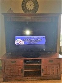 55 TV $125 ENTERTAINMENT CNTER $150