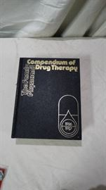 1986 1987 Compendium of Drug Therapy Book