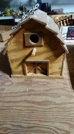 Handmade Wooden Birdhouse