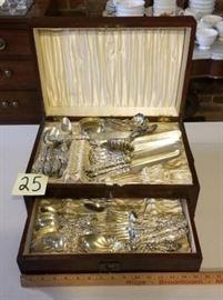 Lily Sterling Silverware Set by Frank Whiting https://ctbids.com/#!/description/share/77550