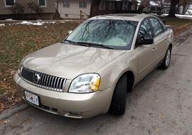 2005 Mercury Montego Passenger Car, VIN # 1MEFM42145G622383, Mileage: 10,428