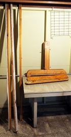 """Adjustable Large Wood Quilting Frame Expands up to 7.5"""""""