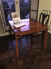 Rosewood Table & Chairs