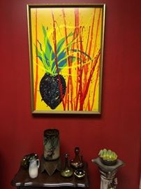 Original painting by Dale Chihuly - signed by the artist