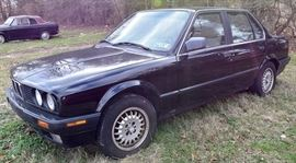 At 8PM: 1989 BMW 325i Sedan Black Exterior, Tan Cloth Interior; 137,250 Miles; Automatic Transmission; Power Windows & Mirrors; AM/FM Stereo with Cassette, and much more! VIN: WBAAD2301KED23723