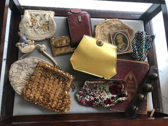 vintage and antique coin purses