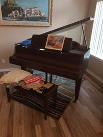 Zimmerman Mahongany Baby Grand