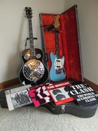 Fender Mustang (BID ITEM) and Rogue Acoustic