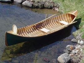 Adirondack Guideboat Canoe