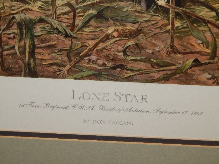 #1 Antietam Series published by Historical Art Prints 1500 from original painting