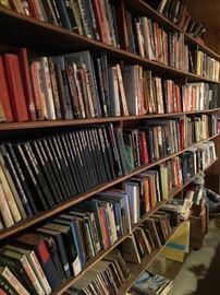 Hundreds of old books!