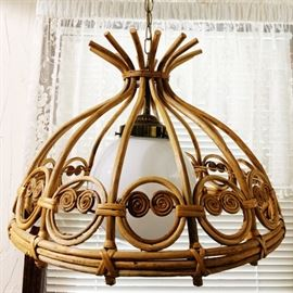 Hanging Lamp - awesomely vintage
