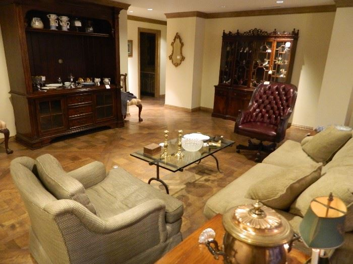 Spacious sale with quality furniture and accessories.