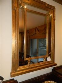 Decorative panel mirror