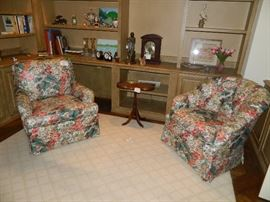 BAKER occasional chair and club chair