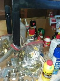 Knobs, oils, sprays, paints, etc