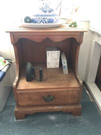 Wood end table 35.00