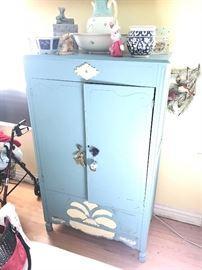 Antique Cedar armoire 75.00