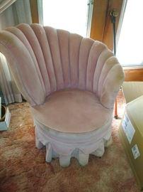 Custom  Retro/Vintage Chair Pink