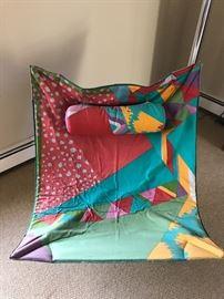 Saporiti chair by Alberto Salviati and Ambrogio Tresoldi. (Slight damage)