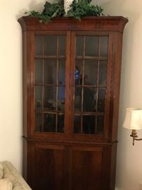 Beautiful corner cabinet from Edenton NC