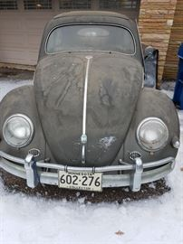 Collectible Volkswagen Beetle! Has been in storage for many years and owners have decided it's time to find it a good new home! To be sold through silent bids. Vehicle will not be sold prior to the sale. Client is the second owner of the vehicle Chassis No. 1204868 We do have the key for the vehicle The client reported he cannot locate the title, but will start the process to obtain a duplicate title. He purchased the vehicle in 1967 from Texas. He reported it has never been driven in MN winters and have been in storage for over 25 years.