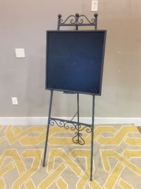 Metal Blackboard Easel