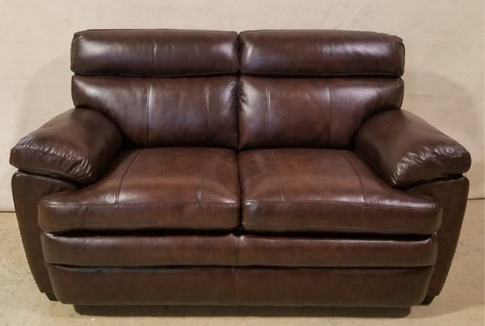 Leather Italia Tempe loveseat